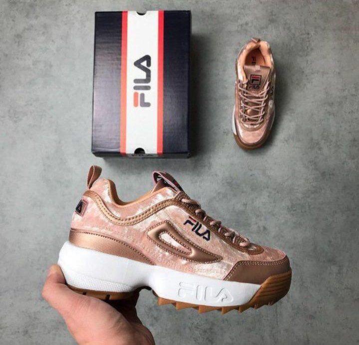 ddfd982e6a51 Купить кроссовки Фила   FILA Disruptor II Gold в интернет-магазине в ...