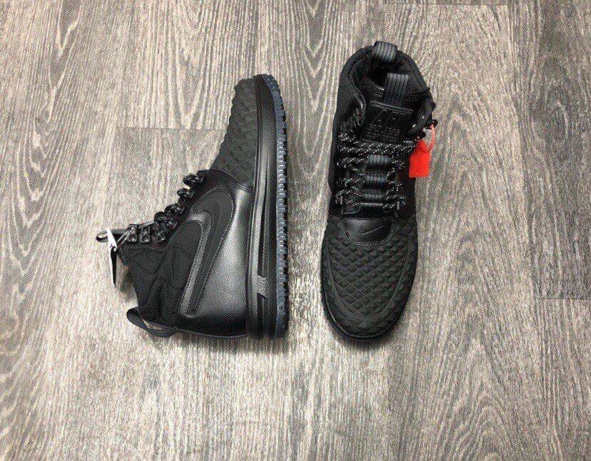 540fec12 Купить кроссовки Найк | Nike Lunar Force 1 Duckboot Black в интернет ...