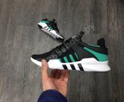 Кроссовки Adidas EQT Support ADV Primeknit (Black / Green / White)