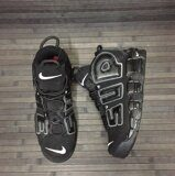 Кроссовки Nike Air More Uptempo x Supreme (Black)