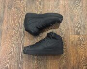 Кроссовки Nike Air Force 1 Mid (All Black)