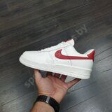 Кроссовки Nike Air Force 1 '07 Low White Red