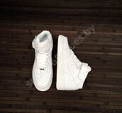 Кроссовки Nike Air Force 1 Mid (All White)