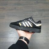 Кроссовки Adidas Drop Step Low Black Gold