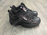 Кроссовки FILA Disruptor II (Full Black)
