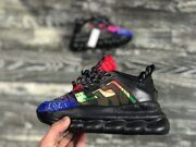 Кроссовки Versace Chain Reaction Black / Multicolor