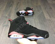 Кроссовки Air Jordan 6 (Black Infrared)