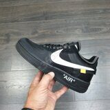 "Кроссовки Nike Air Force 1 Low ""Off White"" Black"