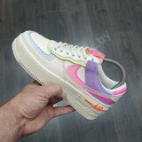 Кроссовки Nike Air Force 1 Shadow Low Beige Violet