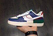 Кроссовки Nike Air Force 1 Low Blue White Red