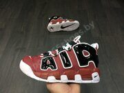 Кроссовки Nike Air More Uptempo (Red Black)