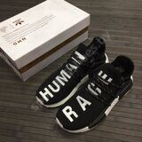 Кроссовки Adidas Human Race NMD Black White