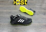 Кроссовки Adidas Boost Black Green