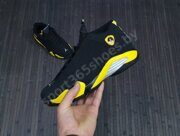 Кроссовки Air Jordan 14 Black Yellow