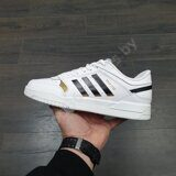 Кроссовки Adidas Drop Step Low White Black