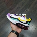 Кроссовки Nike Air Max 270 React White Yellow Purple