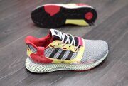 Кроссовки adidas ZX 4000 4D Grey Three F17 / Core Black / Hi-Res Yellow
