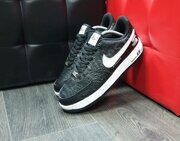 Кроссовки Nike Air Force 1 x Supreme The North Face Black