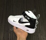 Кроссовки Nike Air Force 1 07 Mid White Black