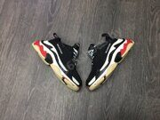 Сникеры Balenciaga Triple S (Black White Red)