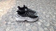Кроссовки Nike Air Max 95 QS Metallic Platinum (Black / Silver / White)