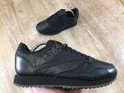 Кроссовки Reebok CL Leather (Black)