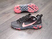 Кроссовки Nike React Element 55 Gray Black Red