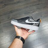 Кроссовки Nike Air Force 1 Low Under Construction Black Grey Reflective