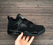 Кроссовки Air Jordan 4 Retro (Full Black)