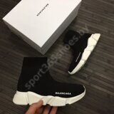Кроссовки Balenciaga Speed Trainer (Black White)