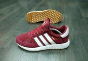 Кроссовки Adidas Iniki Runner Boost (Burgundy / White)