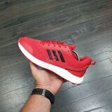 Кроссовки Adidas Boost Red Black White